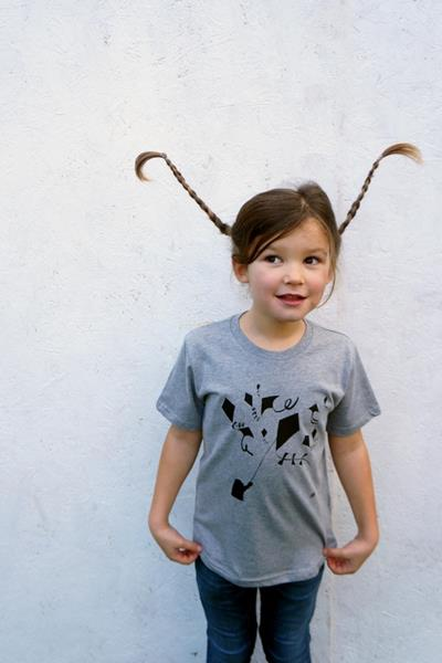 Kites Organic T-Shirt For Kids