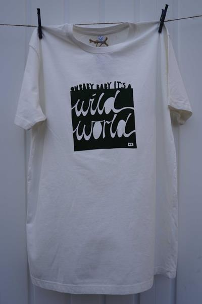 Wild World Organic Vintage Wash T-Shirt