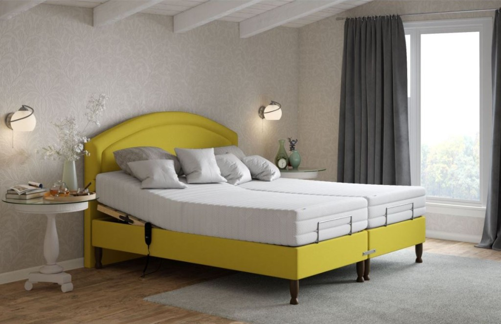 Alconbury King Size Adjustable Bed in Desire Melon and Shallow Base