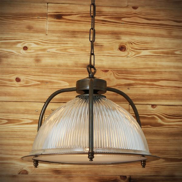 Mullan Bousta Holophane Pendant With Diffuser